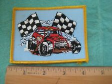 Vintage Dirt Drivers Independendent Race Tracks Racing  Patch