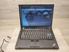 Libreboot Lenovo Thinkpad T400 Core 2 Duo @ 2.40GHz 120GB SSD 4GB RAM Trisquel