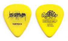 Job For A Cowboy Yellow Tour Guitar Pick