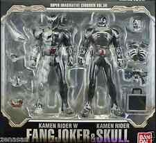 New Bandai S.I.C. VOL.59 Double Fang Joker & Kamen Rider Skull PAINTED
