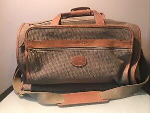 Christian Dior Vintage Travel Duffle Bag with Strap