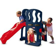 New Kids Playground Set Hide Slide Climber Outdoor Jungle Gym Little Tikes Fun