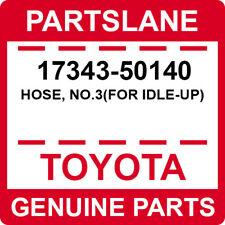 17343-50140 Toyota OEM Genuine HOSE, NO.3(FOR IDLE-UP)