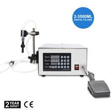 Liquid Filling Machine Pump Filler Bottle Filler 5-3500ml Digital Control