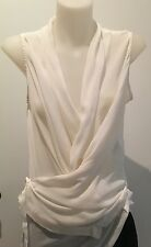 Ann Demeulemeester - Sheer white top - Size 36 (XS - S)