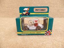 1991 Matchbox Nutmeg 1:64 Scale Diecast Sprint Midget Car Doug Wolfgang Schnee