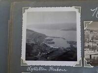 1950s Photo Of Lyttelton harbour  New Zealand