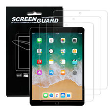 Premium iPad HD Clear Screen Protectors For iPad 10.5 / 9.7 / New 12.9 inch Pro