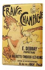 Tin Sign Alcohol Retro Champagne Kitchen