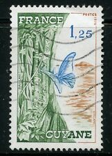 STAMP / TIMBRE FRANCE OBLITERE N° 1865A / FAUNE / PAPILLON / GUYANE