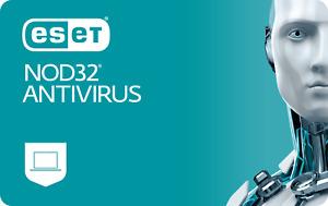 ✅ ESET NOD32 Antivirus 1 Jahr Digitale Lizenz ESD | DE Händler | BLITZVERSAND ✅