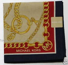 MICHAEL KORS Handkerchief Navy x Red x Beige from Japan