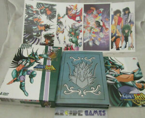 COFFRET 4 DVD SAINT SEIYA DRAGON BOX PART 2 - INTEGRALE COLLECTOR (vendeur pro)