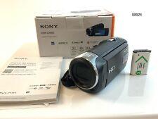 Sony Handycam HDR-CX405 Full HD 60p Flash Memory Camera Camcorder - Black