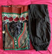 Women's Girls Indian Pakistani Designer Cotton Anarkali Kurti Kurta & Legging
