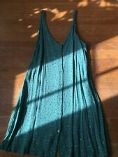 & Other Stories Green Floral Dress Loose-fit Size Small