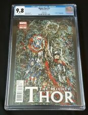 MIGHTY THOR 13 CGC 9.8 VARIANT AVENGERS VERY RARE! 2012 CAPTAIN AMERICA VOL 1