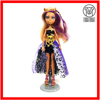 Monster High Clawdeen Wolf 13 Wishes Doll Mattel Ghould Retired NO STAND