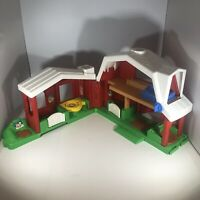 Fisher Price Little People Musical Foldable Farm Barn # 2149 Vintage 1999 WORKS!