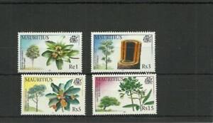 MAURITIUS SG1053-1056 TREES MNH