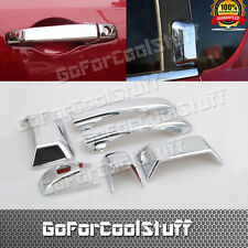 For 2011 2012 2013 Jeep Compass Chrome 4Dr Handle W/O Pskh Abs Cover
