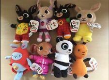 2x Bing, Charlie Bunny Coco Hoppity Voosh Flop Pando Sula Soft Toys Conjunto de 8 Nuevo
