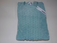 SONOMA CREW NECK CABLE KNIT CHENILLE SWEATER WOMENS SZ XXL (20) -TEAL- NWT