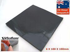 "Sorbothane Isolation Sheet 6*100*100mm 1/4""* 4""* 4"" Anti Vibration Pad Square"