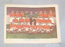 #D80.  1938-39 FAMOUS SOCCER FOOTBALL TEAM - MANCHESTER U