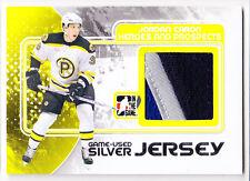 Jordan Caron 2010-11 ITG Heroes Prospects Update Hockey Jersey Silver Card /40
