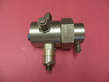 Marotta Model Rv87A Pressure Reducer Electric On-Off, 24Vdc, 3000-Psi
