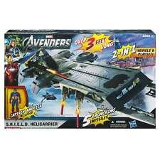 """Marvel - Avengers 3 FT  S.H.I.E.L.D. Helicarrier With 4"""" Captain America - New"""