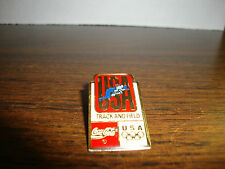 USA Olympic Track & Field Pin---From Coca Cola