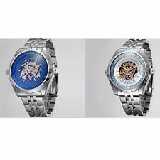 Stainless Steel Case Mechanical (Automatic) Wristwatches
