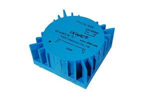 PCB welded toroidal transformer YHDC PTC10 10VA 115V*2/9V*2