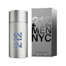 CAROLINA HERRERA 212 FOR MEN 100ML EAU DE TOILETTE SPRAY BRAND NEW & SEALED