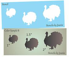 Stencil Turkey Bird Shape B Hunt Rustic Lodge Thanksgiving Cabin Art Prim Signs