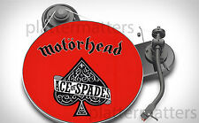"""Ltd Edition MOTORHEAD Ace of Spades 7"""" or 12"""" inch TURNTABLE platter MAT see all"""