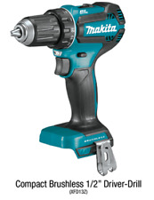 "Makita XFD13Z 18-Volt 1/2"" 2-Speed Lit-Ion Brushless Drill Driver Tool Only New"
