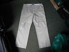 "Maine England Pants Waist 40"" Leg 31"" Light Beige Mens Jeans"