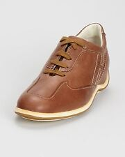 Hogan Leather Sneaker Women's - Made In Italy Size 8.5 NIB!!