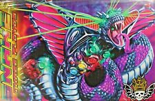 Large Three Floyds IPA Beer Sign. Lazer Snake. Psychedelic. Dragon. Man Cave.
