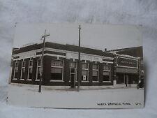 NORTH BRANCH MN Minnesota  Street Scene Merchants State Bank + RPPC postcard