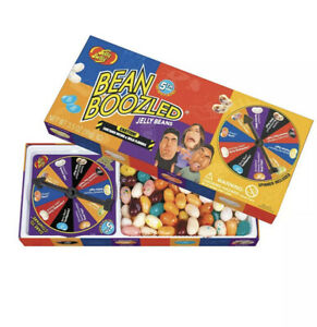 Jelly Belly Bean Boozled Spinner Wheel Game 5th Edition 2 New Flavors-!