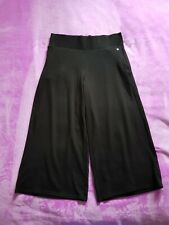 M&S Active Size 12 cropped exercise gym yoga pants - Black