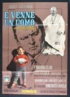 Manifesto E Ist Ein Männchen Rod Steiger Ermanno Olmi 1966 Krst Xxiii Papst M323