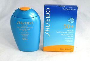 Shiseido Ultimate Sun Protection Lotion+ SPF 50+ ~ 3.3 fl oz. ~ BNIB