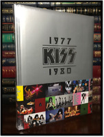 KISS 1977-1980 Brand New Sealed Deluxe Large Photography Gift Edition Hardcover