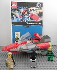 LEGO 7134 STAR WARS A- WING FIGHTER BA EPISODE 4/5/6 FIGUREN RAUMSCHIFF