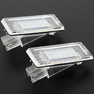 LED License Plate Light for Renault Fluence Master II Twingo II Mode 73504
